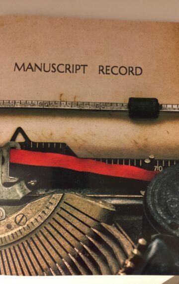 Manuscript Record